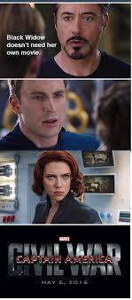 Black Widow Meme - meme watch these captain america civil war memes explain why