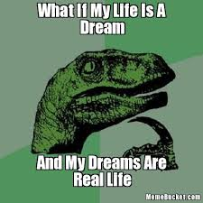 How Do I Create My Own Meme - what if my life is a dream create your own meme