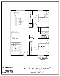 home design one bedroom apartment designs example 2 floor plan