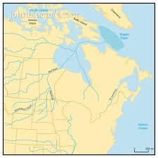 map of missouri river 9 how the missouri river formed dakota geology