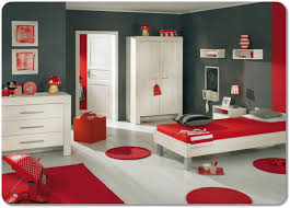 gray and red bedroom bedroom in red and grey