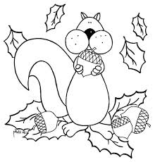 squirrel coloring pages for preschoolers page u2013 vonsurroquen