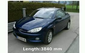peugeot price 2000 peugeot 206 cc automatic details features exhaust