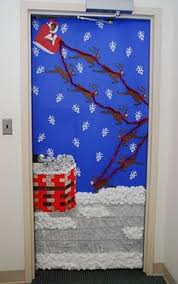 Christmas Door Decorations Ideas For The Office Add The Naughty Or Nice To The Reindeer My Classroom Door