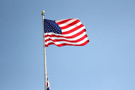 The Flag Of Usa Flag Of Usa Waving On Rising Sun Stock Footage Video 593104 Clip