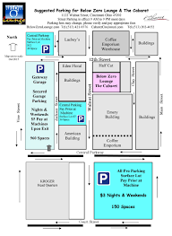 Ohio State Parking Map by Below Zero Lounge Cincinnati Over The Rhine Djs Vjs Game Show