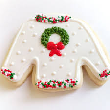 ugly christmas sweater cookies popsugar food