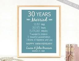 30th wedding anniversary gift ideas 30th wedding anniversary present for husband gift ideas australia