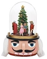nutcracker ballet animated musical glass glitterdome