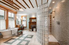 glass block bathroom design ideas glass block wall decor pictures