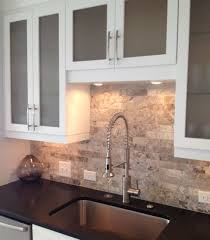 kitchen travertine backsplash backsplash ideas interesting travertine tile backsplash