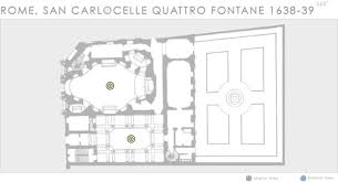 Church Of Light Floor Plan Baroque Architecture Real Virtual Columbia University In The