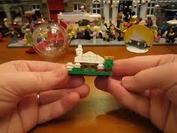 lego set 850949 snow hut ornament build