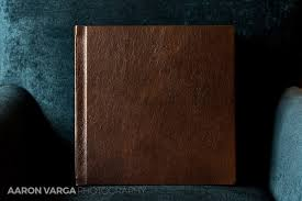 leather wedding albums pittsburgh athletic association brown leather wedding album