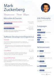 facebook resume template what mark zuckerberg s resume might have looked like before what mark zuckerberg s resume might have looked like before facebook