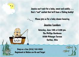 fishing themed baby shower reel excited fishing theme baby shower invitations
