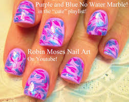 no water needed marble nail art design tutorial youtube