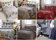 Brushed Cotton Duvet Cover Double Flannelette Duvet Cover Ebay