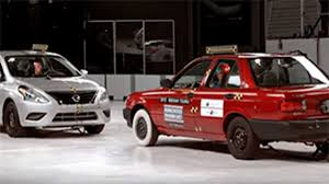 nissan tsuru 2014 nissan tsuru vs nissan versa crash test mexican model overlap testing