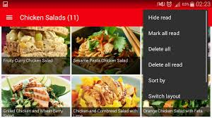 easy salad recipes book android apps on google play