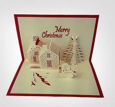 christmas cards sale pop up greeting cards for sale handmade paper craft 3d pop up