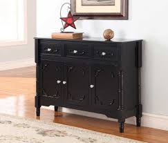 Black Console Table Antique Black Console Table Design Featuring 2 Drawers And Bottom