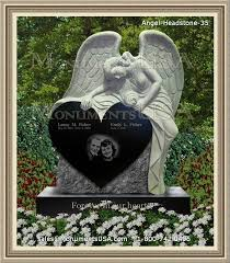 how much does a headstone cost grief stricken angel cemetery headstones angel headstones