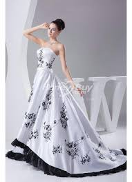 white and black wedding dresses buy black wedding dresses online honeybuy page 1