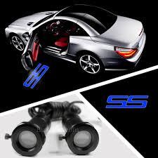 chevrolet car logo ghost shadow projector laser led car door welcome logo light step