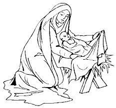 birth of baby jesus coloring page coloringcrew com