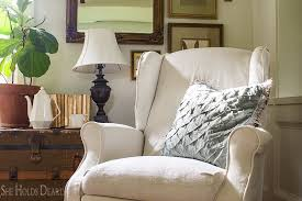 Slipcover For Recliner Couch How To Slipcover A Recliner She Holds Dearly