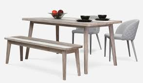 epic scandinavian dining table with bench 19 in home decoration