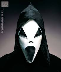buy gid hooded ghost mask 6 styles fancy dress halloween