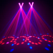 chauvet dj 4play dmx 4 head moonflower effect light disco lighting