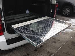 truck bed extender u0026 organizer pickup bed slide out