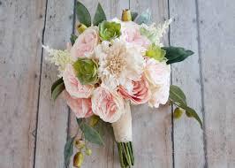 Silk Bridal Bouquet Bouquets U2013 Kate Said Yes Weddings