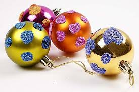 decorating baubles ideas lights card and decore