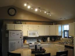 wonderful led track lighting kitchen for home remodel plan with