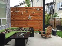Privacy Walls For Patios by Cedar Patio Privacy Wall 5 4x6