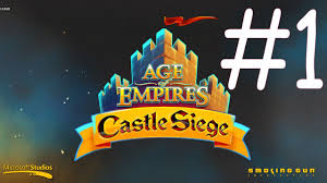 Microsoft Siege - lets play age of empires castle siege by microsoft corporation