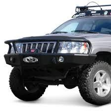 2000 jeep bumpers 2000 jeep grand custom 4x4 road steel bumpers carid com