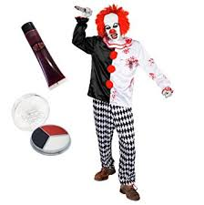 killer clown costume killer clown costume evil fancy dress costume
