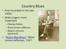 Blind Lemon Jefferson Matchbox Blues Twelve Bar Blues