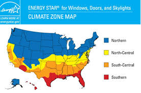 america climate zones map energy climate zone map for windows building america