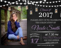 high school graduation invites graduation invitation etsy
