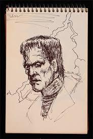 michael jackson frankenstein sketch julien u0027s auctions 2009