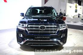 land cruiser 2016 2016 toyota land cruiser facelift front at 2015 dubai motor show