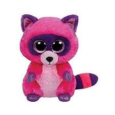 ty beanie boo plush roxie racoon 15cm amazon uk toys