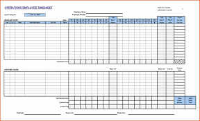 printable employee time sheet it audit report template template