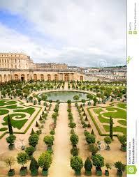 Versailles Garden Map Versailles Garden France Royalty Free Stock Image Image 9640776